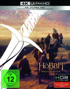 Der Hobbit: Die Spielfilm Trilogie - Extended Edition - 4K ULTRA HD