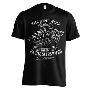Game of Thrones TShirt The Lone Wolf dies S