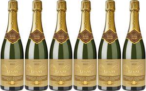 6x Cremant Bourgogne Bdb Brut  – Weingut Cave de Lugny, Bourgogne – Weißwein