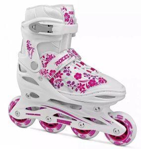 Roces Inline - Skates Compy 8.0 Mädchen weiß / pink Größe 30-33