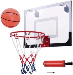 Basketballbrett, Basketball Backboard Basketballboard, Basketballkorb Wandmontage, Basketballbrett mit Korb für Indoor und Outdoor