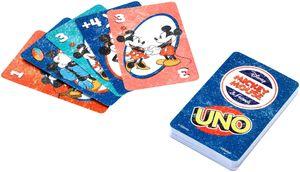 Mattel Games UNO Micky Mouse, Kartenspiel, Gesellschaftsspiel, Familienspiel