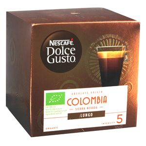 Nescafé Dolce Gusto Absolute Origin Colombia Sierra Nevada Lungo, Kaffee Kapsel, Kaffeekapsel, Röstkaffee, 12 Kapseln
