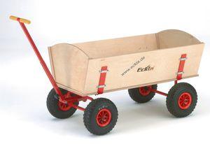 Eckla Bollerwagen - Eckla-Long-Trailer, Zerlegbar, Länge 100 Cm, Pannensichere Bereifung 77902