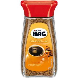 Kaffee HAG löslicher Kaffee klassisch mild entkoffeiniert 100g