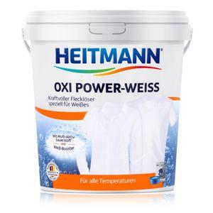 Heitmann Oxi Power Weiss 750g - Fleckenlöser weiße Wäsche, Wäscheweiß (1er Pack)