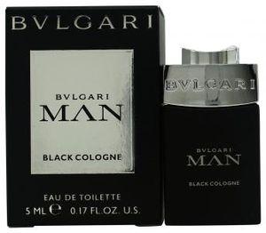 Bvlgari Man Black Cologne by Bvlgari Mini EDT .17 oz