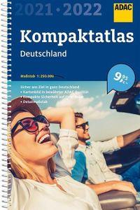 ADAC Kompaktatlas Deutschland 2021/2022 1:250 000