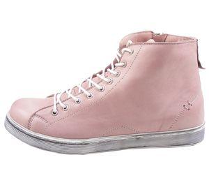 Andrea Conti Damen 0341500 Schnürboots Sneaker High mit Reißverschluss , Größe:40 EU, Farbe:Rosa