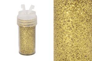 Glitzerpulver 10g in Dose mit Streudeckel, Farbauswahl:gold 687
