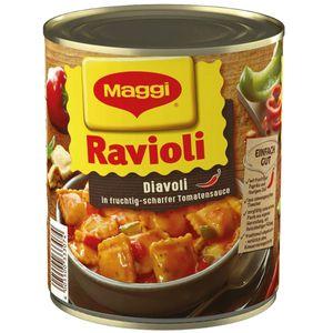 Maggi Ravioli Diavoli in fruchtig scharfer Tomatensauce 800g