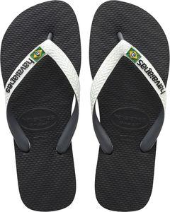 havaianas Brasil Mix Flips black/white Schuhgröße EU 47-48   Brazilian 45-46