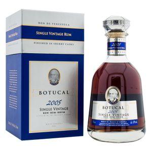 Botucal Single Vintage 2005 Rum Prestige Range finished in Sherry Casks Venezuela | 40 % vol | 0,7 l