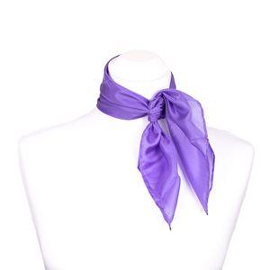 Nickituch Seidentuch violett lila flieder Seide 55x55cm