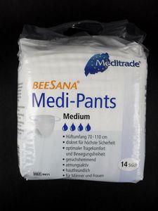 Beesana Medi Pants, Größe M, Einweg Inkontinenz Slip, VE 14 Stück
