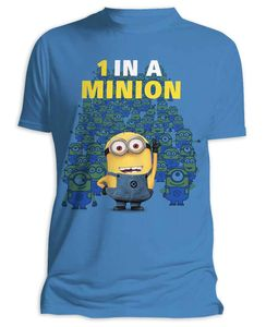 Despicable Me T-Shirt 1 In A Minion (Minions) Gr. S - T-Shirts