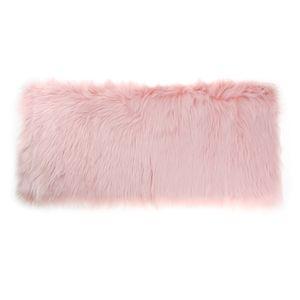 1-teiliger Teppich  Zusatz Boden Nachbildung und Aufbwahrung für Badezimmer und Schlafzimmer Hell-Pink