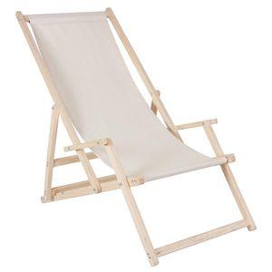 Liegestuhl Strandliege Holz Campingliege Gartenliege Sonnenliege Strandstuhl Faltliege Freizeitliege Balkonliege Terassenliege