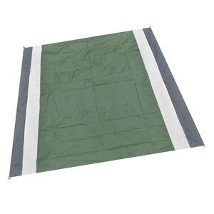 Wasserdicht Picknick Decke Camping Strand Matte Im Freien Reise Folding Teppich Doppelt Klappmatte Grau + Weiß + Armeegrün