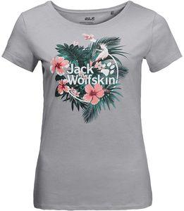 Jack Wolfskin Tropical T-Shirt Mehrfarbig - Damen