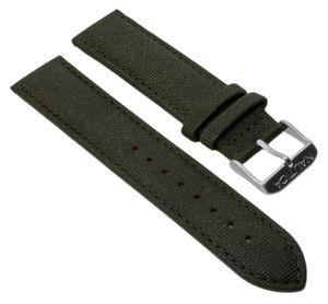 Nautica Herren Uhrenarmband 20mm grün Leder A11108G A18685G A16579G