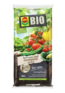 COMPOTomaten- und Gemüseerde 40 Liter torffrei