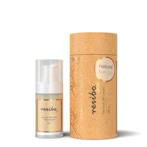 Resibo BB Creme (Getönte Tagescreme) Farbe Natur Beige 30ml 100% Vegan - Naturkosmetik