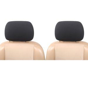Kopfstützenbezug Set Universal | Upgrade4cars Auto Kopfstützen-Bezüge in Schwarz | Auto-Zubehör Innenraum