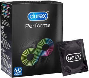 Durex Performa Kondome Verzögern den Orgasmus des Mannes Präservative 40 Stück