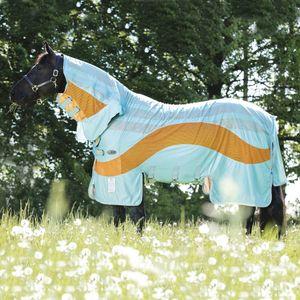 Horseware Amigo Vamoose Evolution - Aqua/Orange, Größe:155