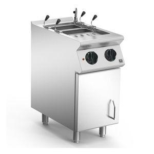 Nudelkocher 40cm elektrisch, 1 Pfanne Version 2/3 Gastronorm, 230V-3N 50-60Hz