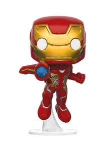 Funko 26463 Pop! Marvel: Avengers: Infinity War - Iron Man #285 + Pop Protector