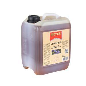 Meyer Leinöl-Firnis - 5 Liter