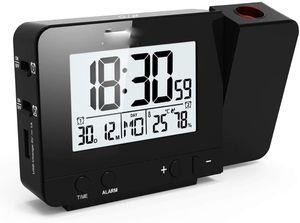Digital Projektionswecker mit Temperatur und Zeit-Projektion