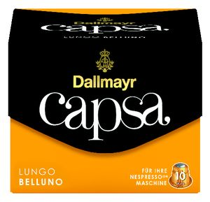 Dallmayr Capsa Lungo Belluno | 10 Nespresso® komp. Kapseln