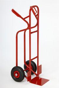 TRESTLES S04 rot Profi Sackkarre Transportkarre Treppenrutsche 250 kg PolyurethanRad