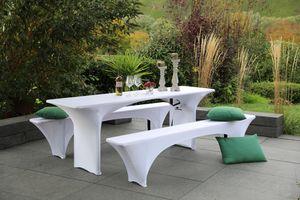 GO-DE Textil, Spann-Hussen für Bierzeltgarnitur 70er Tisch, beige, 1110-39
