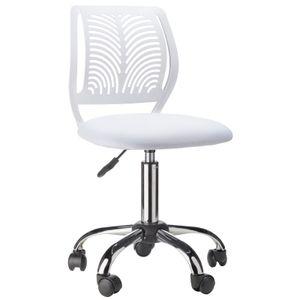 Futurefurniture® Bürostuhl,bürostuhl ergonomisch, bürostuhl 150 kg,ergonomischer bürostuhl, chefsessel bürostuhl (Weiß)