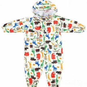 Kinder Regenoverall Regenanzug Wasserdicht Jungen Mädchen Regenkleidung Regenjacke Softshelljacke Regenponcho Outdoorjacke  /M