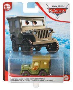 MATTEL GKB21 Disney Pixar Cars Die-Cast Sarge mit Nr. 95