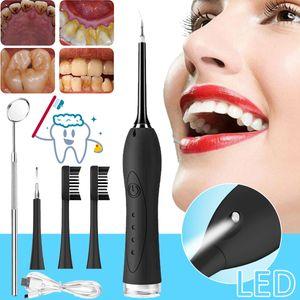 Elektrisch Zahnsteinentferner Zahnstein Ultraschall Whitening USB Zahnreiniger