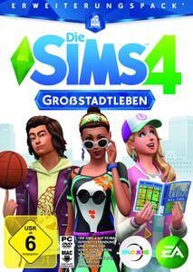 Die Sims 4 - Großstadtleben  (Add-On) - CD-ROM DVDBox