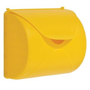 AXI Briefkasten Gelb   Spielhaus / Spielturm Zubehör aus Kunststoff
