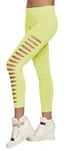 Boland durchbrochene Legging Damen neongrün Größe M Kostüme