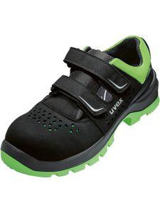 uvex Sicherheitsschuhe uvex 2 xenova® Sandale S1P SRC schwarz/grün Größe