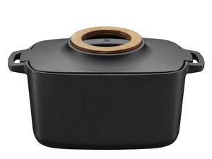 Fiskars - Norden Gusseisen-Kasserolle 5 Liter  Thermium Mineralbeschichtung  oval