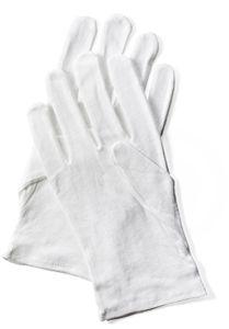 PAPSTAR Baumwoll-Handschuh weiß Größe: M aus 100 % Baumwolle (gebleicht)