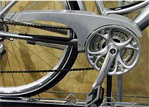 Horn Catena 02 Kettenschutz flügelig 44 Zähne, 1-3 fach silber Ausführung für 48 Z.