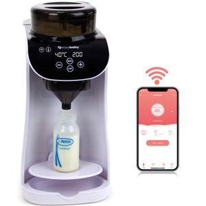 Easybaby Milk Maker - automatischer Flaschenzubereiter - die perfekte Babyflasche auf Knopfdruck, Flaschenwärmer, weiß