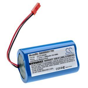 vhbw Akkupack Ersatz für Arizer 2S1P/18650B für Vaporizer (3400mAh, 7,4V, Li-Ion)